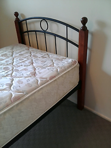 Single bed with Sealy mattress, delivery available Springwood Logan Area Preview