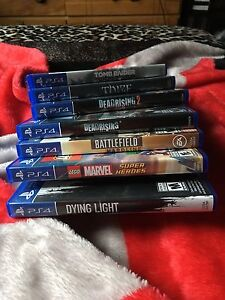 New PS4 games for sell