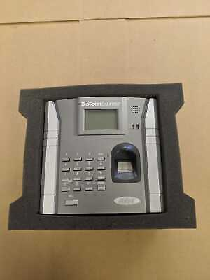 Bioscan Express By Control Module Biometric Time And Attendance Clock 2801-001