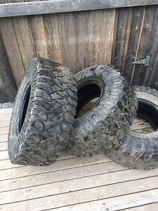 """FOR SALE 3 33"""" TIRES"""