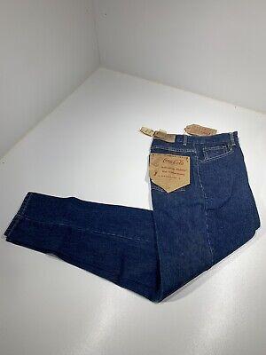 Deadstock Vintage Coca Cola Women's Denim Blue Jeans Tapered Size 8
