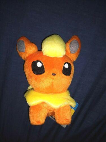 Flareon Pokedoll - Pokemon Plush Toy - Pokemon Center US With Tag