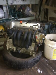 K20 engine and 5 speed manual transmission
