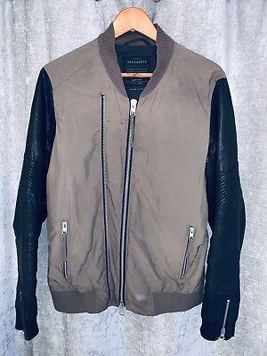 All Saint Jacket With Leather Sleeves segunda mano  Embacar hacia Spain