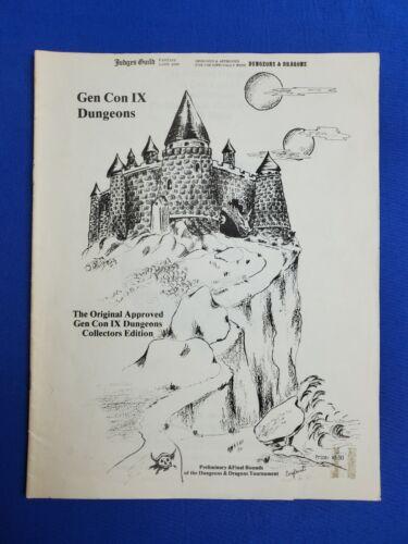 Gen Con IX Dungeons Collector