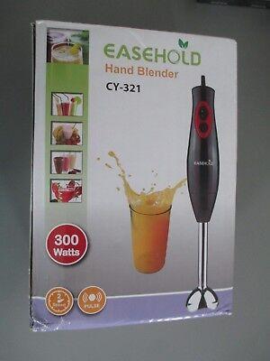 New! Easehold 300 Watt Dual Speed Hand Blender Mixer CY-321 with Bonus Beaker
