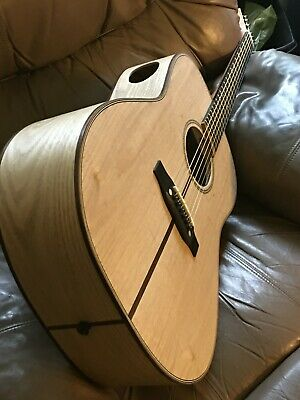Pizzecci Custom Hand Built Solid Wood Luthier Acoustic Guitar-New-  #491/449