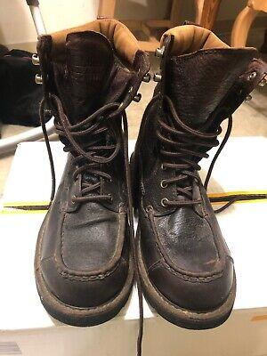 LL Bean GoreTex Waterproof Kangaroo Brown Leather Upland Hunting Boots Mens 10 Kangaroo Hunting Boot