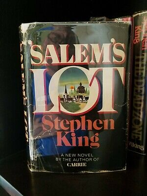 Very Rare Stephen King Salem's Lot 1st Edition 2nd State 1975 Q37