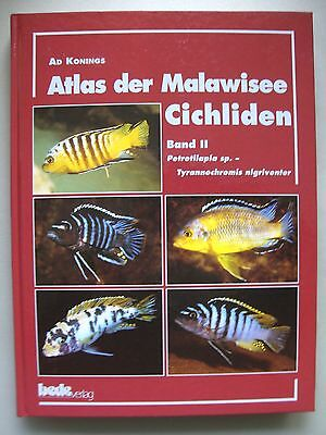 Atlas der Malawisee Cichliden Bd. II Petrotilapia sp. Tyrannochromis nigriventer