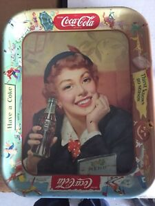 Antique Coca Cola trays 3 available