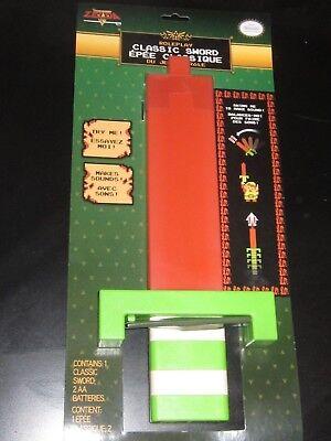 Legend of Zelda Classic Sword Toy NES 8-bit Retro Style + Sounds - Sword Sound