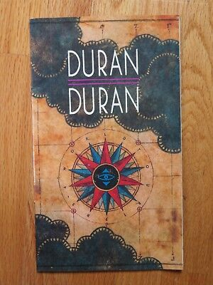 1983-84 DURAN DURAN Seven and the Ragged Tiger Concert Program ANDY TAYLOR