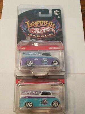 2009 HOT WHEELS LARRY'S GARAGE DAIRY DELIVERY MINT IN PROTECTO PAK