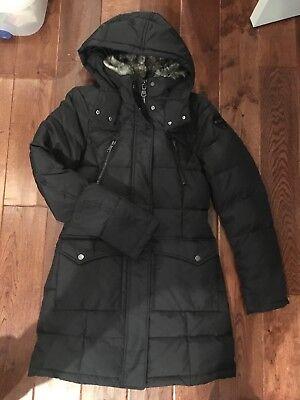 NWT Pajar Canada Tory Fur Collar with Hood Down Parka 550 Fill Womens XS (Tory Canada)