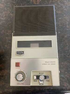 Craig 2603 Cassette Player Solid State Automatic Level Recording TESTED Works