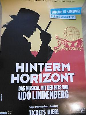 Hinterm Horizont - Udo Lindenberg Musical  Hamburg  Plakat  Poster NEU & RAR !!! online kaufen