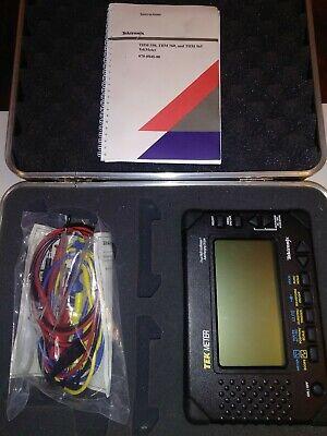Tektronix Tek Meter Thm560 Std Multi Meter W Carrying Case Accessories Book