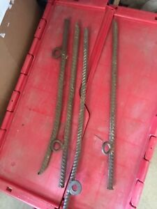 Used Solid rebar   event tent spikes