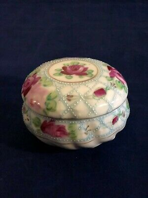 Dancing peppers w// sombrero ceramic trinket box