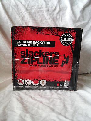 Slackers Zip Line (Slackers 90-Foot Eagle Series Zipline Kit)