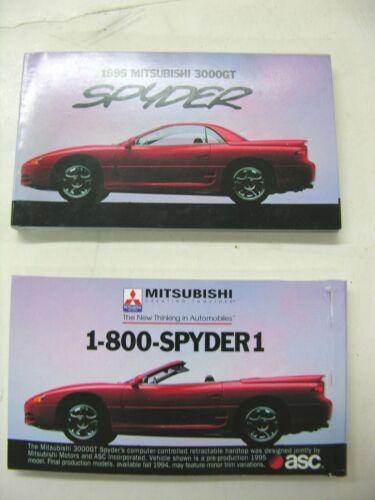 "2  1995 Mitsubishi Spider 300GT Advertising ""flip books"""
