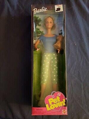 1999 Mattel Pet Lovin' Barbie Doll #28880 NIB please read