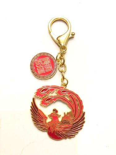 2021 Feng Shui Crimson Phoenix Lunar Mansion Talisman Amulet