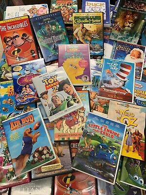 24 Lot Children's DVDs Disney Dreamworks & More! Family / Kids / Clean