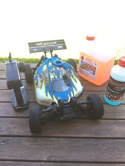 WORKING nitro RC buggy 1/8 scale