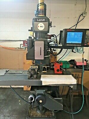 Lagun Ftv-2 3 Axis Cnc Mill With Hass 5c Programmable Work Head