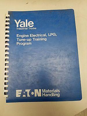 Yale Forklift Engine Electrical Lpg Tune-up Training Program Manual