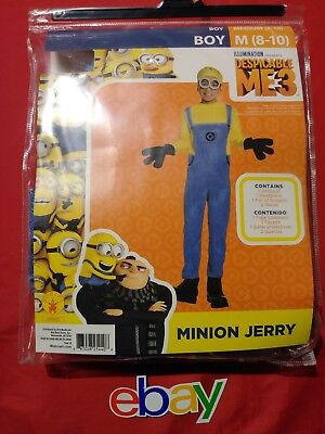 Rubie's Despicable Me 3 Minion Jerry Boy's KIDS Costume Size Medium (8-10) - Jerry Costume
