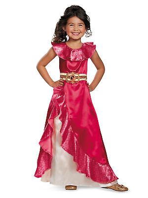 Disneys Elena Of Avalor Classic Adventure Dress Costume For Toddler