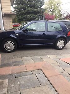 Trade or sale vw golf 2.0 coupe