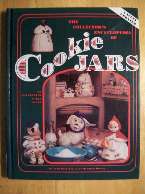 VINTAGE COOKIE JARS $$$ id PRICE VALUE GUIDE BOOK 310 PAGES HARDBACK