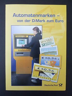 BRD ATM SK SONDERKARTE 2002 AUTOMATENMARKEN SEHR SCHÖN! z2718