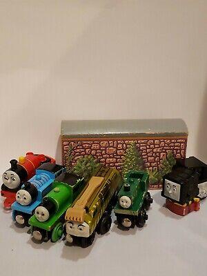 VTG Retired Thomas the Train Wooden Railway lot Diesel 10, Neil, plus others