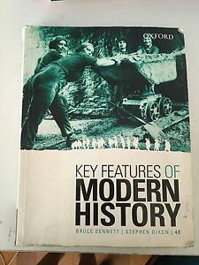 Key Features of Modern History (Bruce Dennett) North Ryde Ryde Area Preview