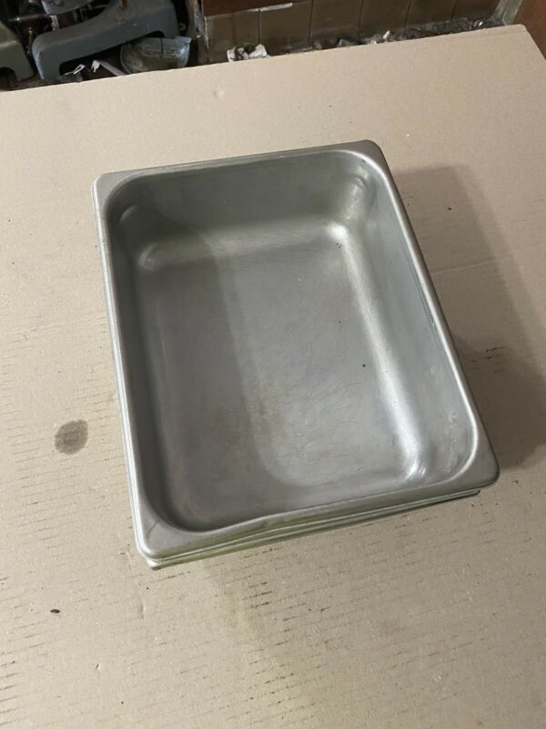 Assorted Hotel Pans 5pc Stainless Steel