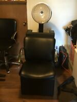 Hair dryer with chair for 300$ and  the hair salon chair for 200