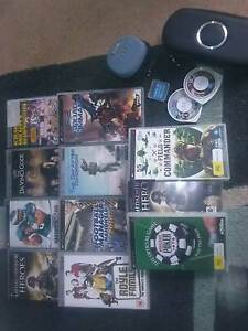 SONY PSP PLAYSTATION PORTABLE STREET E1002 GAMES AND UMD MOVIES Pooraka Salisbury Area Preview
