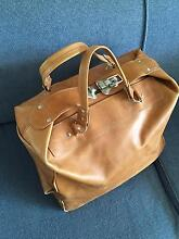 Leather overnight bag Newmarket Brisbane North West Preview