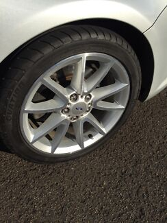 Ford fg mk11 xr6 18inch wheels and tyres Clontarf Redcliffe Area Preview