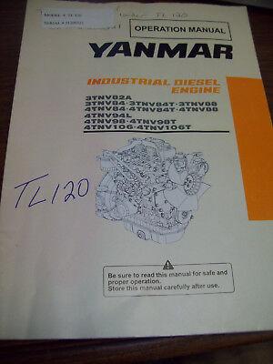Yanmar TNV Series Engine Operation Manual 3TNV 4TNV - Yanmar Engine Manual