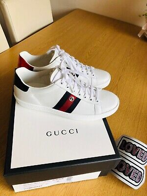 Genuine GUCCI Ace Trainers 36.5 - UK 5 (RRP £715) Sneakers Removable Patches