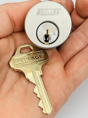 Schlage Everest High Security Mortise Locksport W Key C123 Belt Lock Keyed Diff