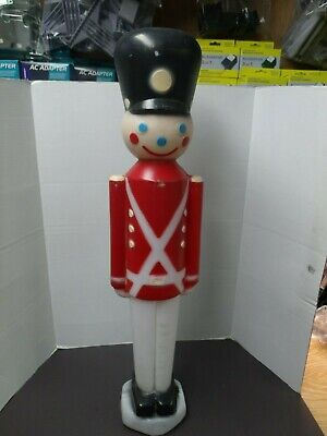 "Vintage Empire 30"" Toy Soldier Lighted Blow Mold Christmas Yard Decoration"