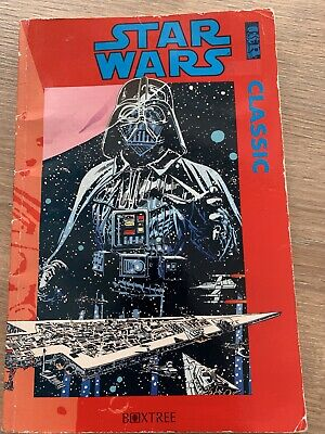Star Wars Classic Graphic Novel Paperback Book - Boxtree 1992