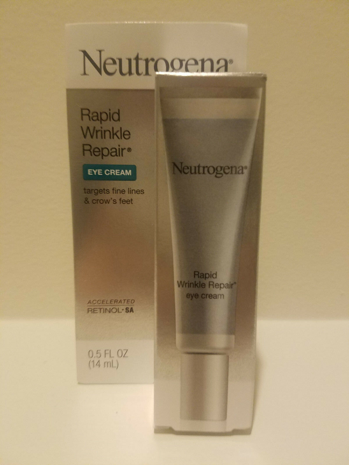 Neutrogena Rapid Wrinkle Repair Eye Cream 0.5 Oz